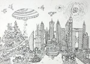 Návšteva z vesmíru. Pavol Ilčák